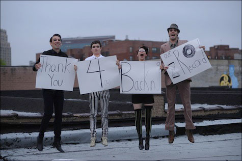 Amanda Palmer and the Grand Theft Orchestra thank their backers