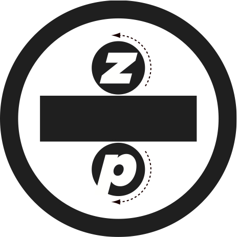 Zenzic Press Bumper Sticker designed by Peter Correll