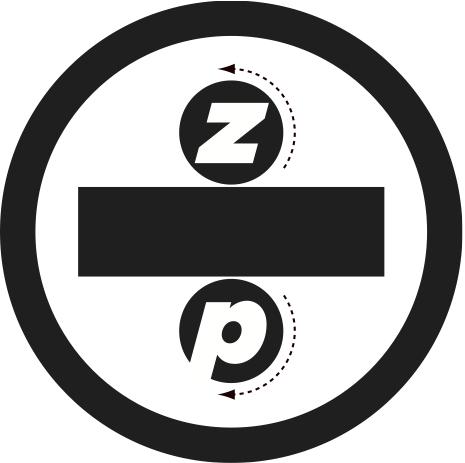 Zenzic Press Bumper Sticker designed by Peter Correll