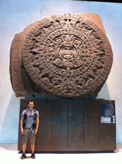 """This spring one of our staff went to Mexico City to install a Laser and visited the original """"Piedra Del Sol"""". Report from the field: """"I'm pretty sure our resolution is better than the original."""""""