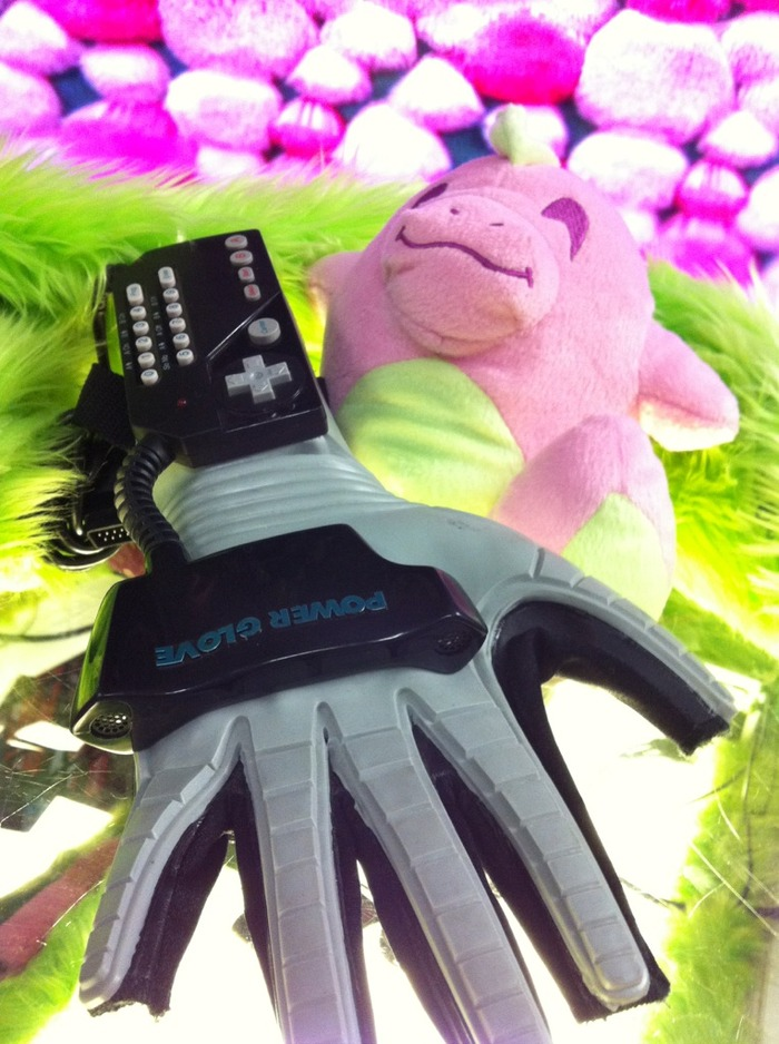 The Power Glove... it's so... PINK!