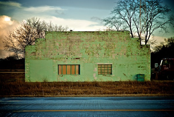 Green Facade, Highway One, near Solon, Iowa