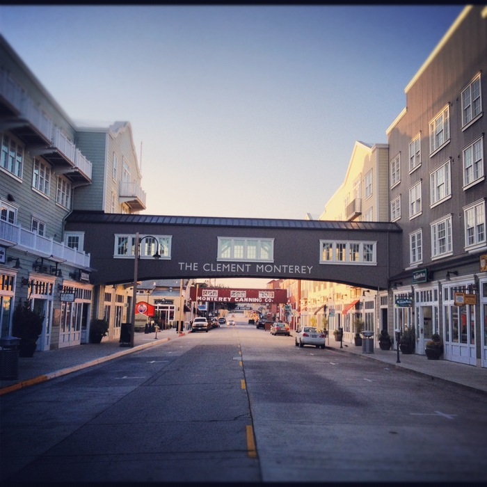 ON LOCATION | Cannery Row at Sunrise