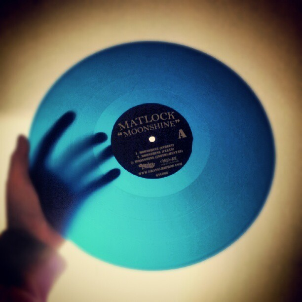 Moonshine 12-inch on clear blue vinyl (LIMITED)