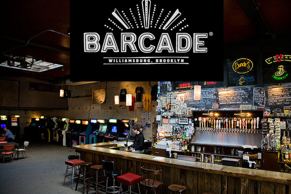 One night of Happy Hour Drinks and Gaming with the Artists at Barcade in Brooklyn (available to NYC residents only) and a signed Hardcover copy of the GAME ON Exhibition Catalog and a signed thank you Postcard mailed to your home.