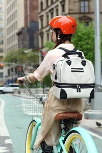 Convertible backpack for easy riding