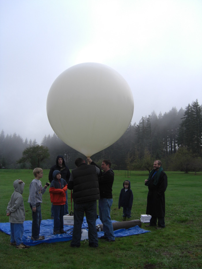 October 31, 2009 - Getting ready to launch