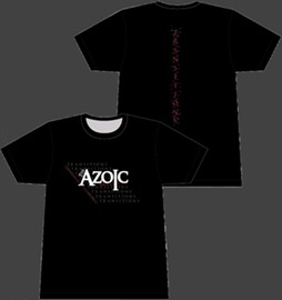The Azoic Transitions t-shirt (and baby tee)