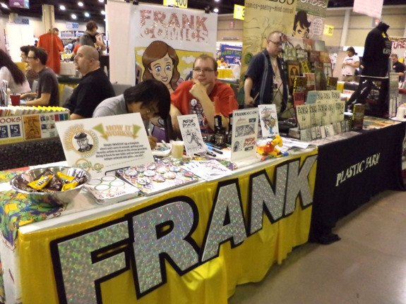 Frank Comics at Heroes Con 2012 in Charlotte, NC