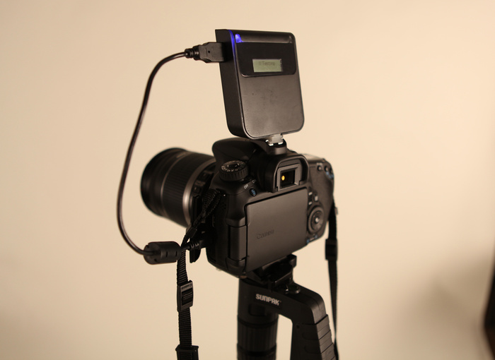 CameraMator Unit on Canon 60D
