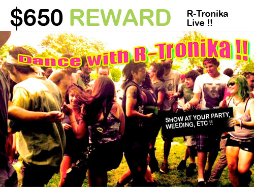 dance with R-Tronika, Live Show !!