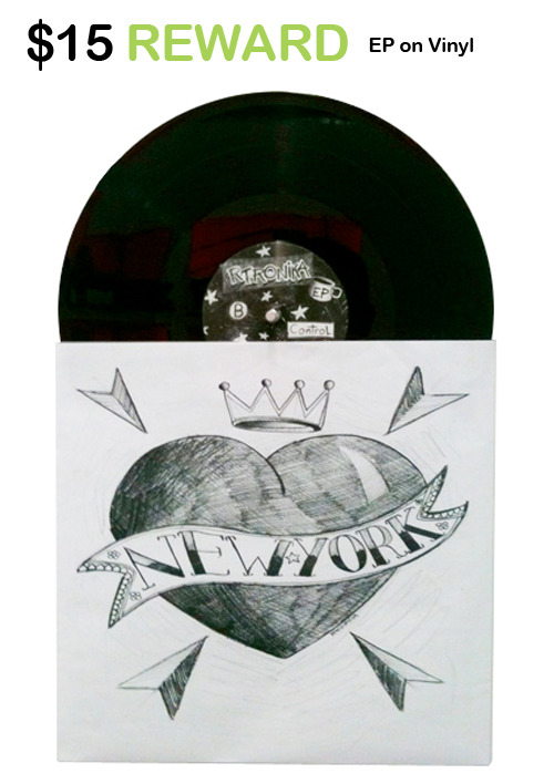 R-Tronika's limited edition EP on Vinyl.