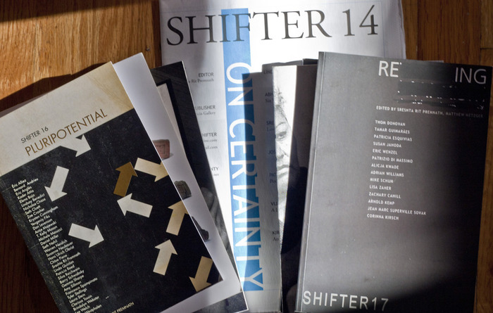 A few of Shifter Magazine's many issues