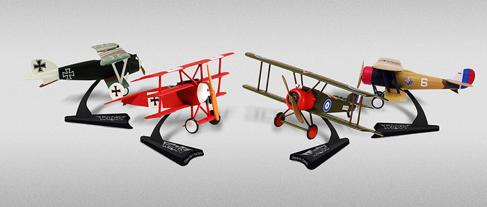 Prize: WWI miniature planes set (artistic rendition, subject to change)