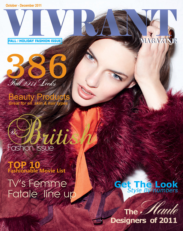 Vivrant Magazine Fall 2011 Issue Cover