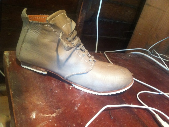 Female Oxford Line Boot