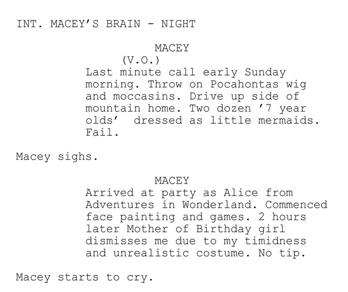 """Script Snippet""  CROWNED © 2012 All rights reserved. I Found Kitty Prod."