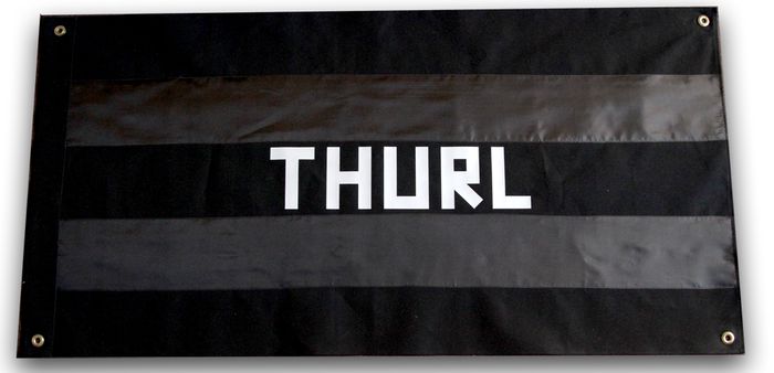 Pledge for a Limited Edition Handcrafted THURL Flag!