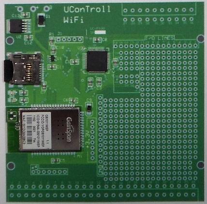 UConTroll Prototype Board - Rev B.
