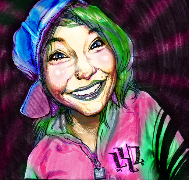 Full Color Portrait Example