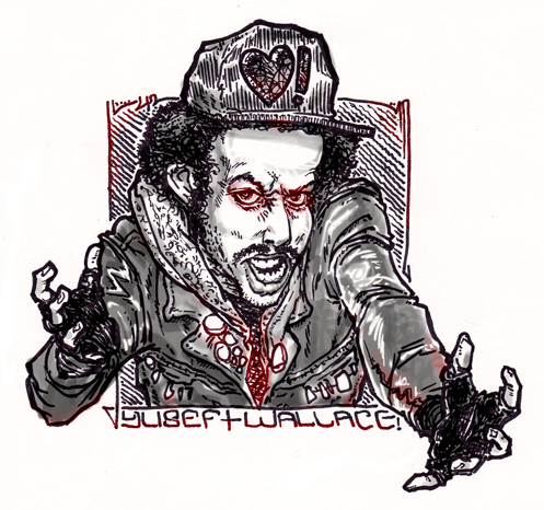 Pen and Marker Caricature