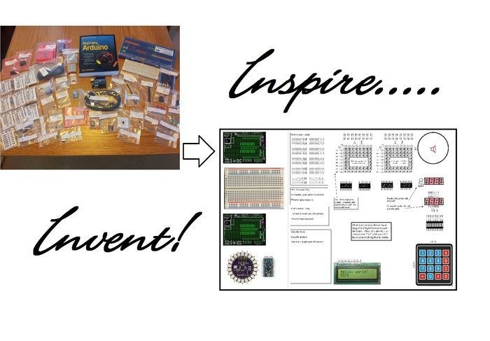 "Help ""Inspire an Inventor"" by making project building easy and quick!"