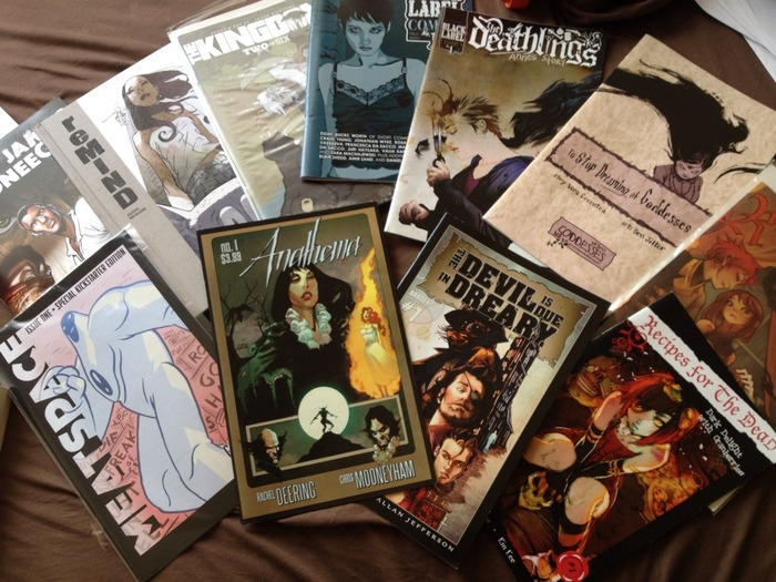 Kickstarter loves comics and so do I.