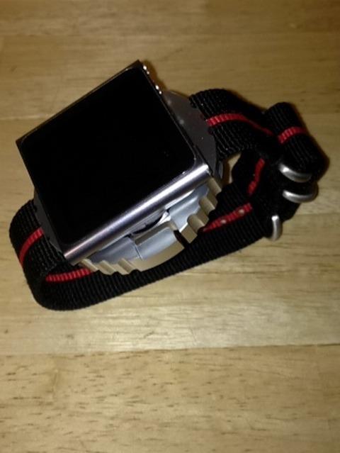 iPod Nano on Nato Wrist Strap