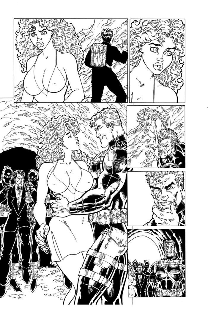 Page from the Bad Guy