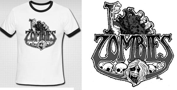"""I """"Heart"""" Zombies T-Shirt"""