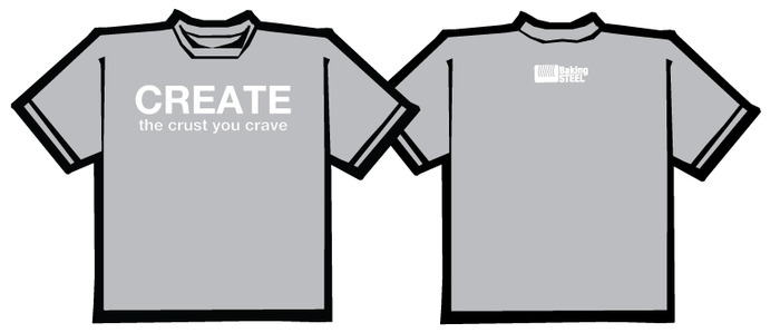 Introducing our T-shirts, Create the crust you crave!