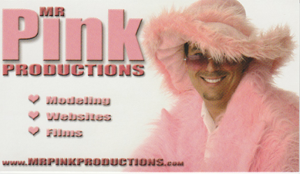 Paul as Mr. PInk
