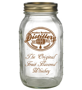Peaden Brothers Distillery Empty Whiskey Jar
