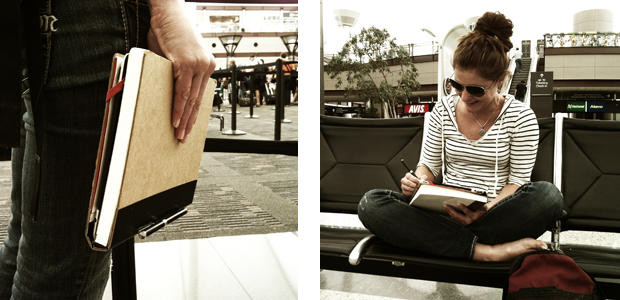 Travel efficiently with your NOTEBLOX and an iPad...