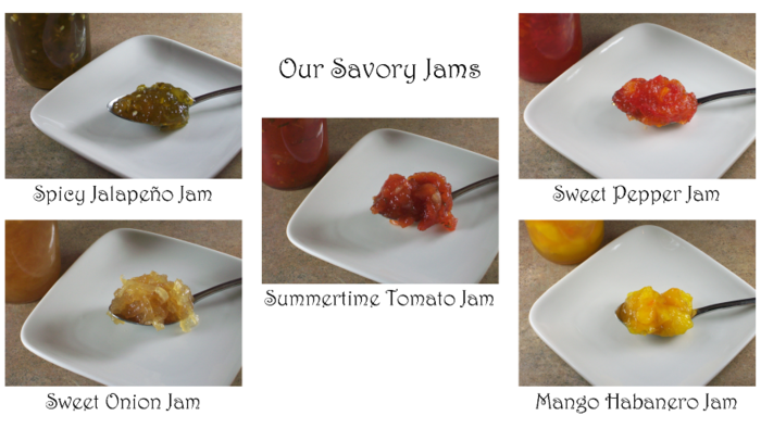 Our Tasty Savory Jams