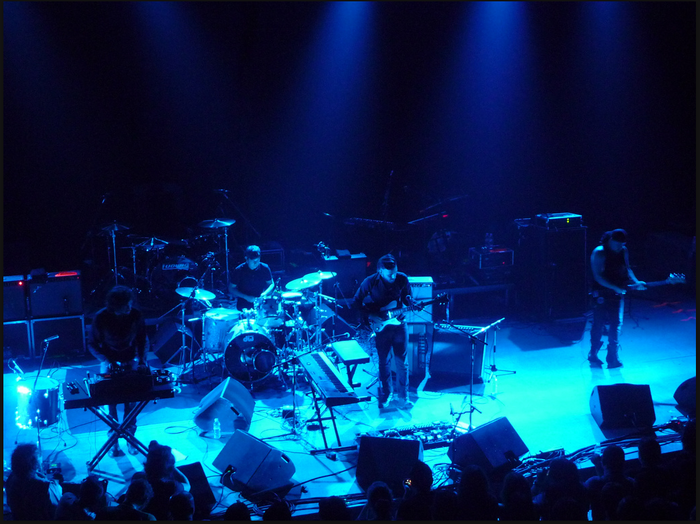 Electric Litany supporting Interpol, 2011