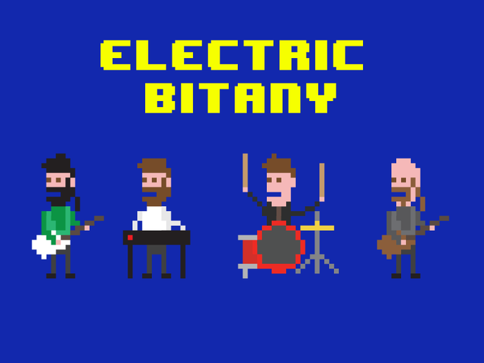 EL 'Bit' characters - pledge to get one made by Rich (drummer)