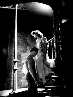 Marlon Brando & Vivian Leigh in Streetcar Named Desire