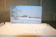 Small, economy version of a photo set box.