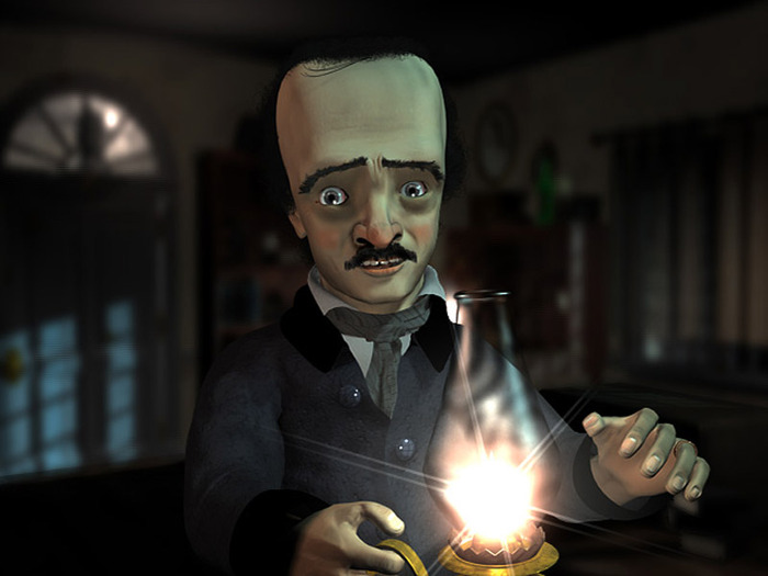 The 3 minute teaser depicts an anxiety-filled Poe auditioning for the TV show. See it here.