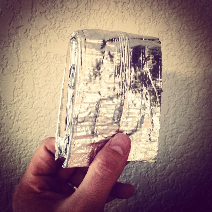 Shiny Silversmith Wallet!! SO Smooth!