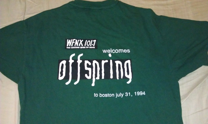 WFNX Offspring T donated by Kat Corbett