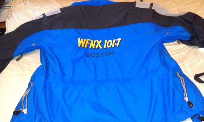 WFNX Ski Jacket donated by Morning Guy Tai