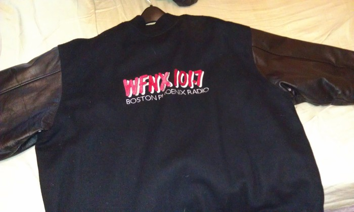 WFNX Jacket donated by Duane Bruce