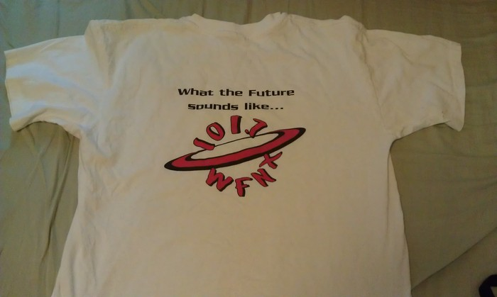 WFNX What The Future Sounds Like T donated by Kat Corbett
