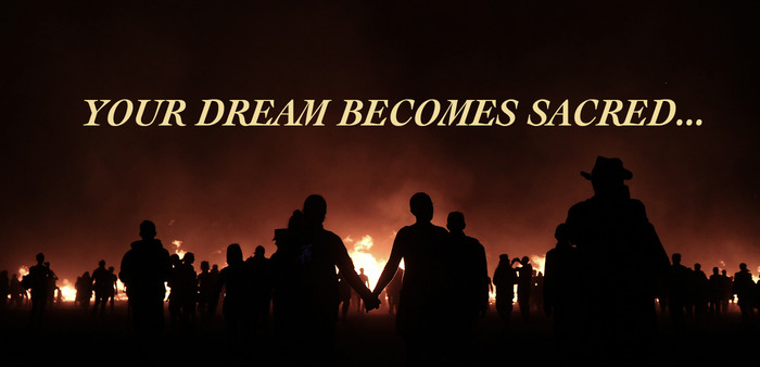 All dreams submitted by backers will be burned at the temple on the final day or Burning Man as thousands of people watch in silence.
