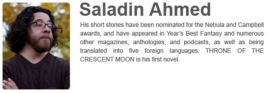 Saladin Ahmed's Website