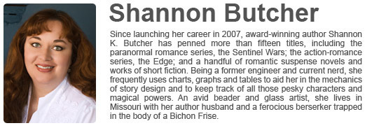 Shannon K. Butcher's Website
