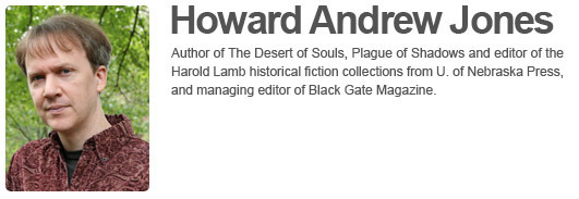 Howard Andrew Jone's Website
