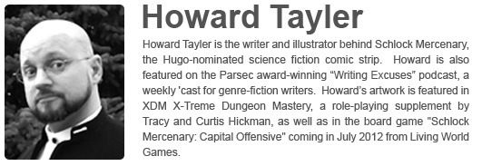 Howard Tayler's Website